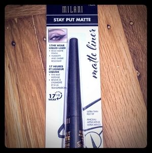 Milani black liquid eyeliner matte New eye liner